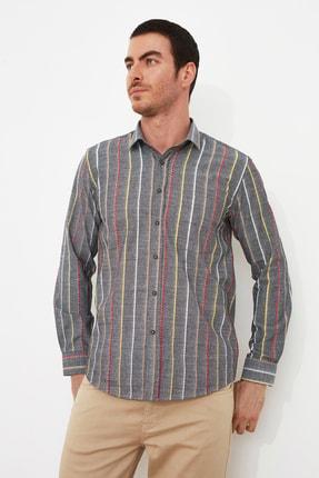 خرید پیراهن مردانه غیرحضوری برند ترندیول مرد رنگ نقره ای کد ty85823342