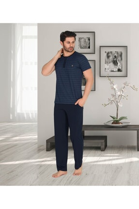 خرید انلاین ست راحتی مردانه ترکیه برند Berland رنگ لاجوردی کد ty86790608