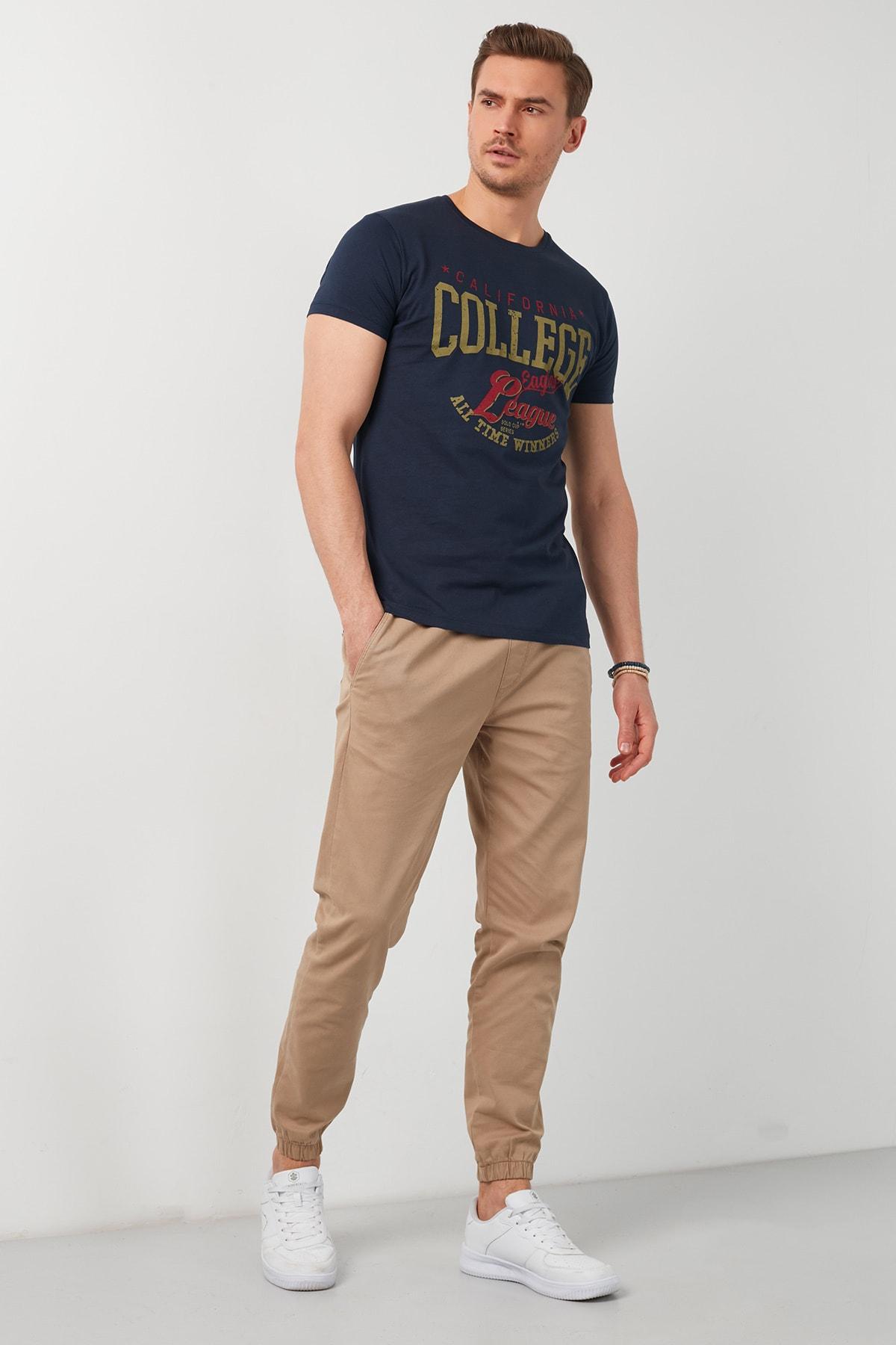 سفارش تی شرت زمستانی مردانه برند Buratti رنگ لاجوردی کد ty87256980