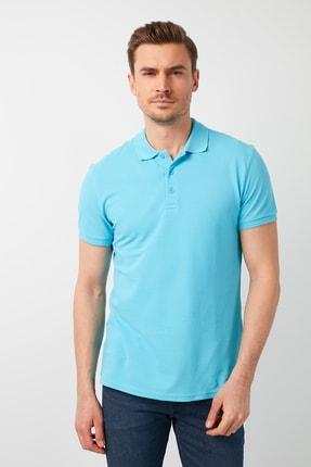پولوشرت مردانه مارک دار برند Buratti رنگ آبی کد ty87838698