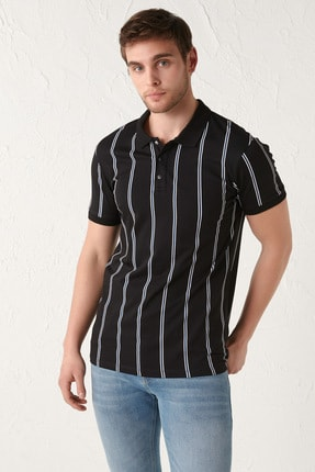 فروش تی شرت جدید برند ال سی وایکیکی رنگ مشکی کد ty88088625