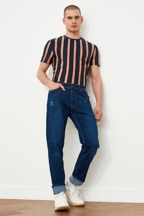 خرید پستی شلوار جین شیک مردانه برند ترندیول مرد رنگ لاجوردی کد ty88264803