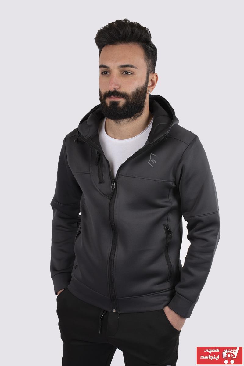 خرید انلاین سویشرت مردانه طرح دار برند bombe رنگ نقره ای کد ty88275965
