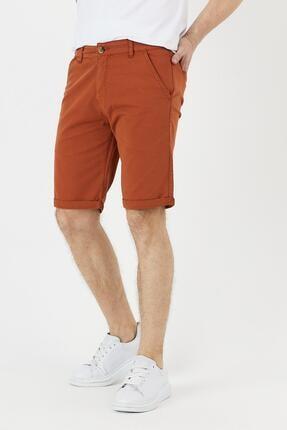 خرید اسان شلوارک مردانه اسپرت جدید برند DAMGA JEANS رنگ نارنجی کد ty88370316