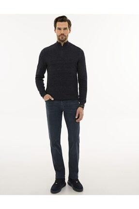 فروش پلیور بافتی مردانه شیک و جدید برند پیرکاردن رنگ لاجوردی کد ty88803703