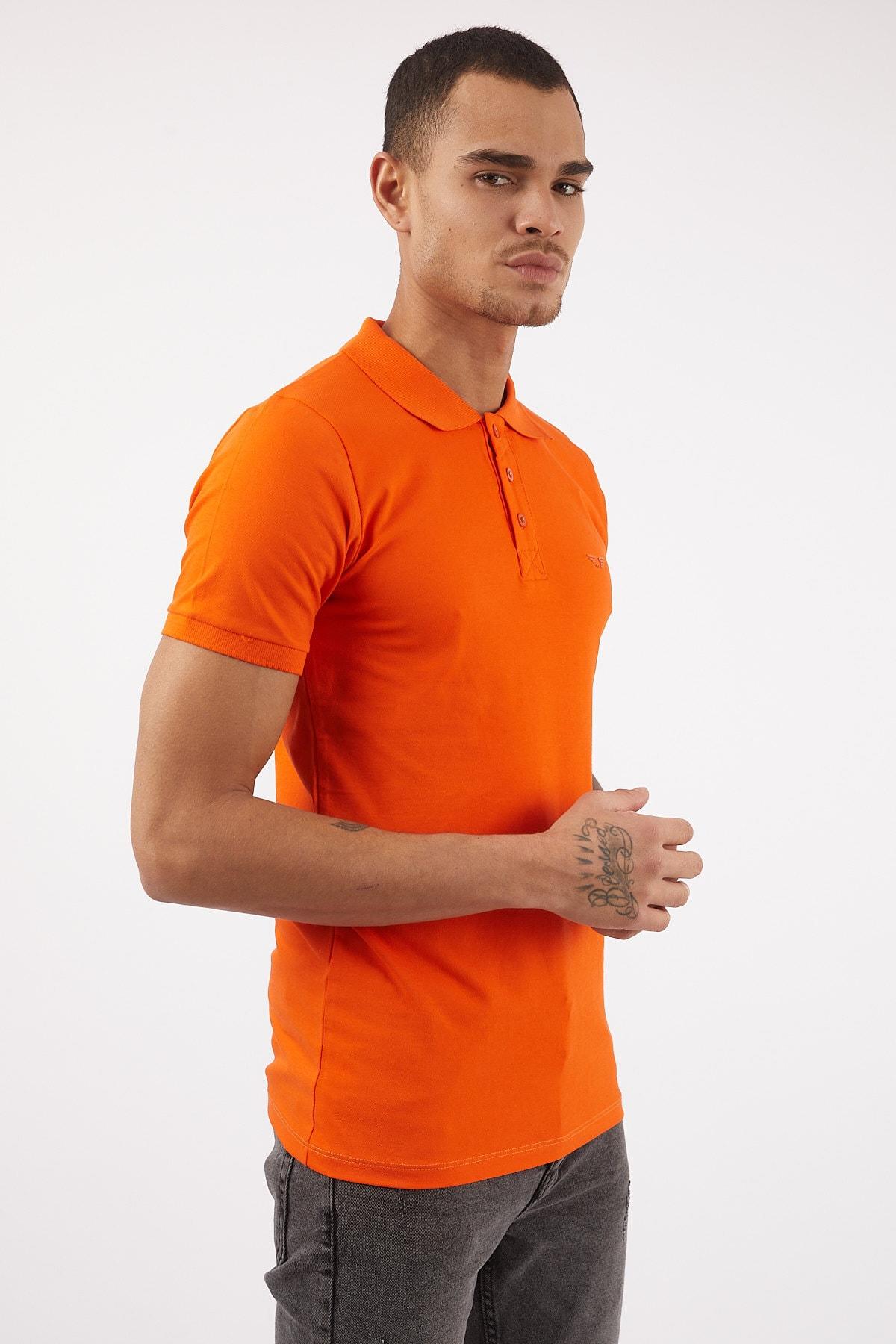 پولوشرت مردانه ارزان برند LAGOS رنگ نارنجی کد ty88854087