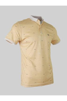 خرید پولوشرت نخی برند N8 GİYİM رنگ زرد ty89225122