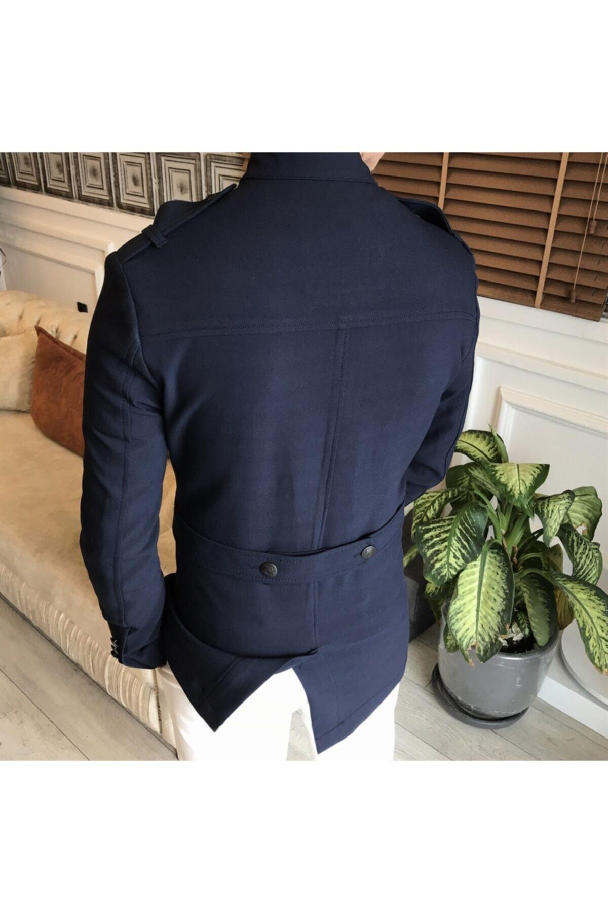 کت تک مردانه جدید برند TerziAdemAltun رنگ لاجوردی کد ty89225301