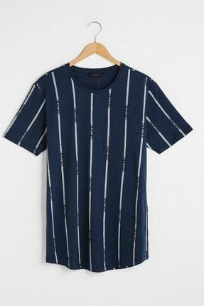 خرید پستی تیشرت مردانه برند ال سی وایکیکی ترک رنگ لاجوردی کد ty89746251