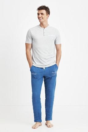 ست راحتی مردانه خاص برند Nautica رنگ نقره ای کد ty89872701