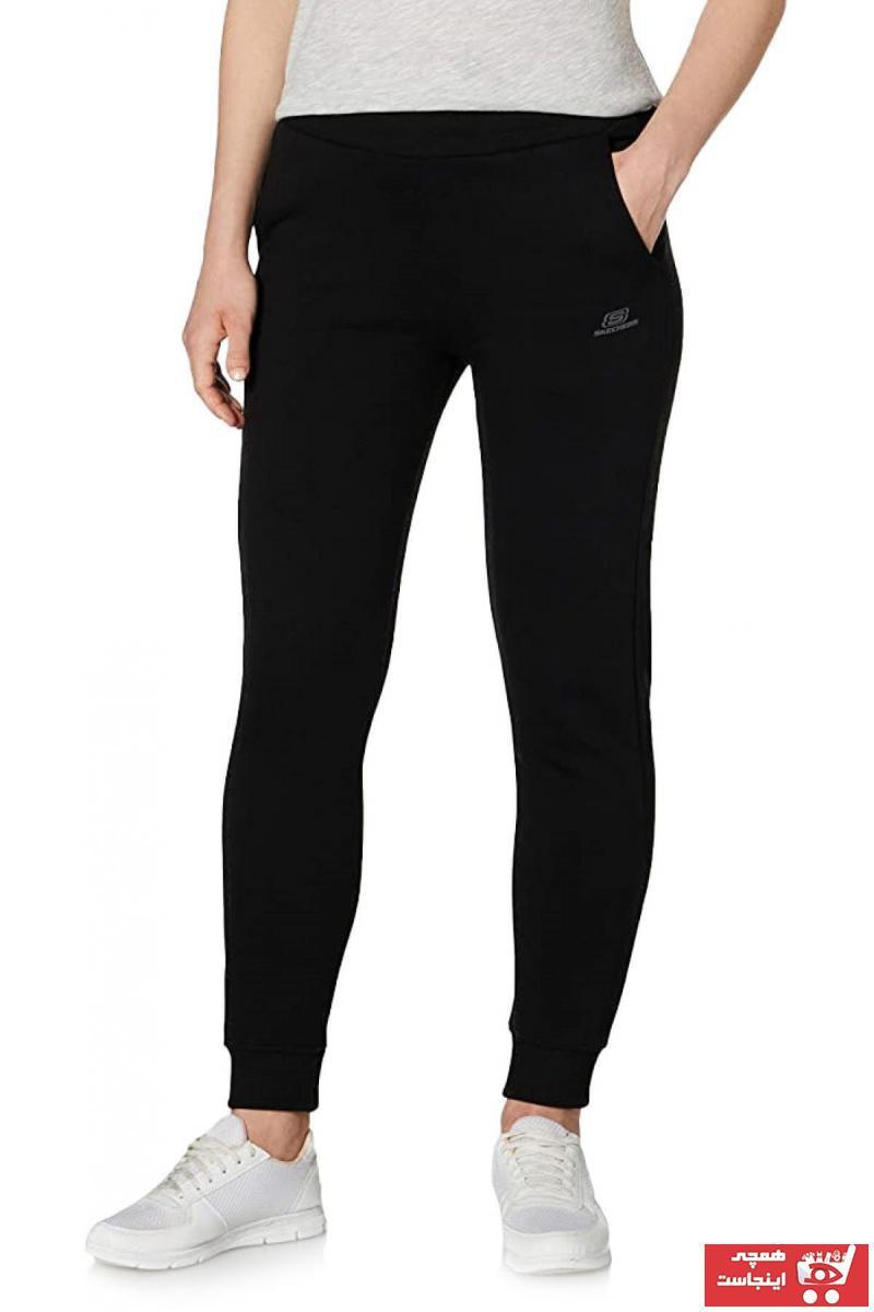 خرید انلاین شلوار ورزشی زیبا مردانه برند اسکیچرز رنگ مشکی کد ty90368846