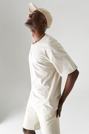 سفارش تیشرت زمستانی مردانه برند دفاکتو ترک رنگ نقره ای کد ty90427522