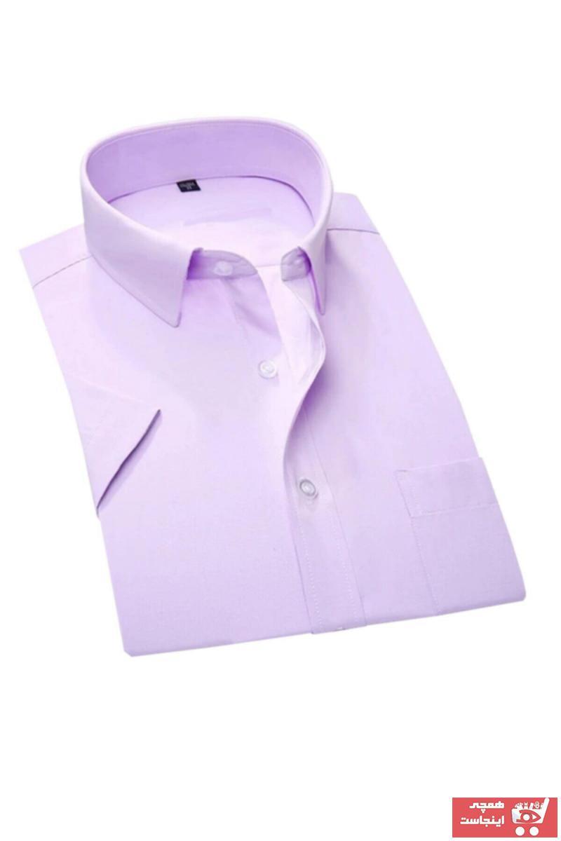 مدل پیراهن کلاسیک مردانه برند MaviMoure رنگ بنفش کد ty90560149