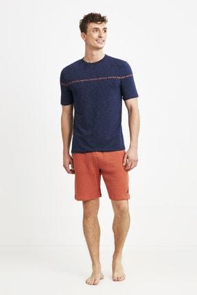 شلوارک مردانه فروشگاه اینترنتی برند Nautica رنگ لاجوردی کد ty91344574