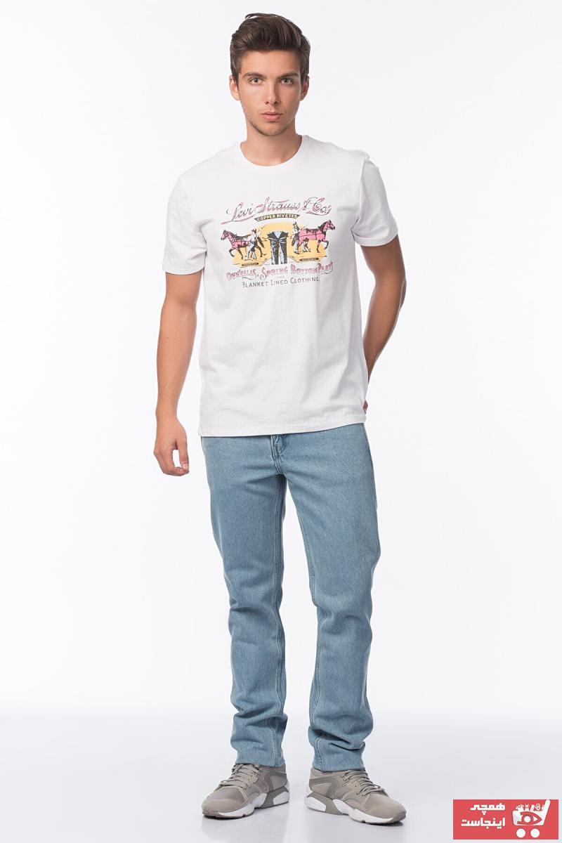 حرید اینترنتی شلوار جین مردانه ارزان برند Levis رنگ لاجوردی کد ty913662