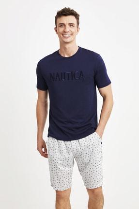 خرید اسان شلوارک مردانه اسپرت جدید برند Nautica رنگ لاجوردی کد ty91392871