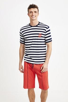 خرید شلوارک مردانه ست برند Nautica رنگ لاجوردی کد ty91474613