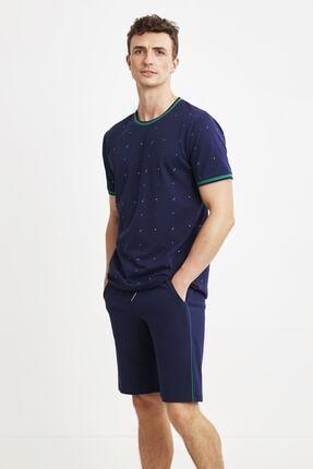 شلوارک جدید مردانه اصل برند Nautica رنگ لاجوردی کد ty91489765
