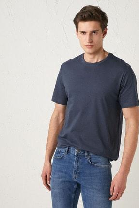 فروش تی شرت مردانه ترک مجلسی مارک ال سی وایکیکی رنگ لاجوردی کد ty91538239