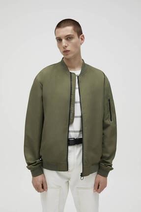 فروشگاه جلیقه مردانه اینترنتی برند Pull & Bear رنگ خاکی کد ty92400235