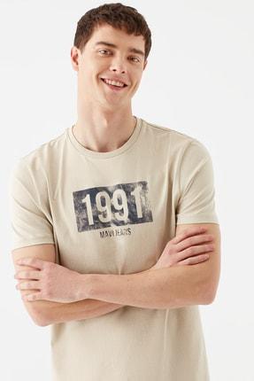 تی شرت مردانه جدید برند ماوی رنگ بژ کد ty92756443