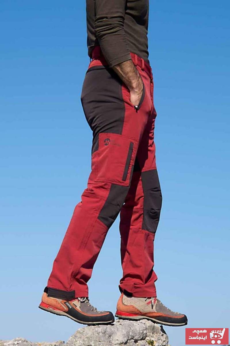 فروشگاه شلوار ورزشی مدل جدید برند High Mountain رنگ قرمز ty93714816