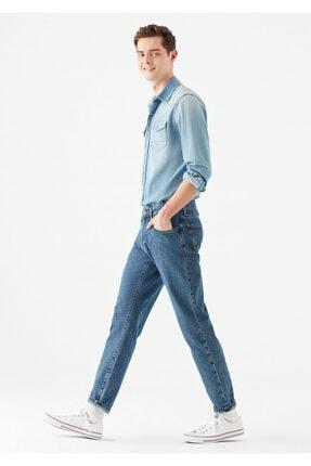 خرید اسان شلوار جین مردانه اسپرت جدید برند ماوی رنگ آبی کد ty93910485