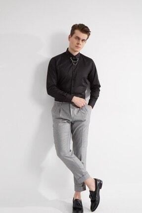 خرید ارزان پیراهن کلاسیک مردانه  برند Fc Plus رنگ مشکی کد ty95395583