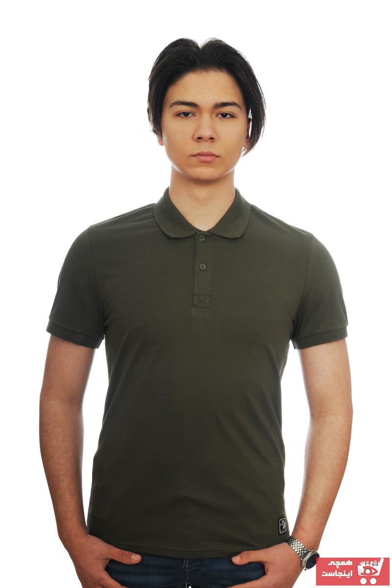 پولوشرت مردانه ارزان برند VERDONE رنگ خاکی کد ty96922663
