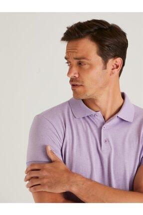 تیشرت مردانه خاص برند Dufy رنگ بنفش کد ty98422946