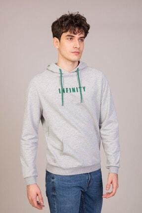 فروش سویشرت مردانه 2020 برند Bediss رنگ نقره ای کد ty98521322