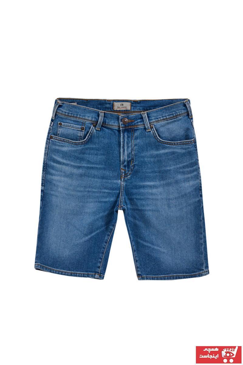 شلوار جین مردانه ست برند ترک Ltb رنگ آبی کد ty98764926