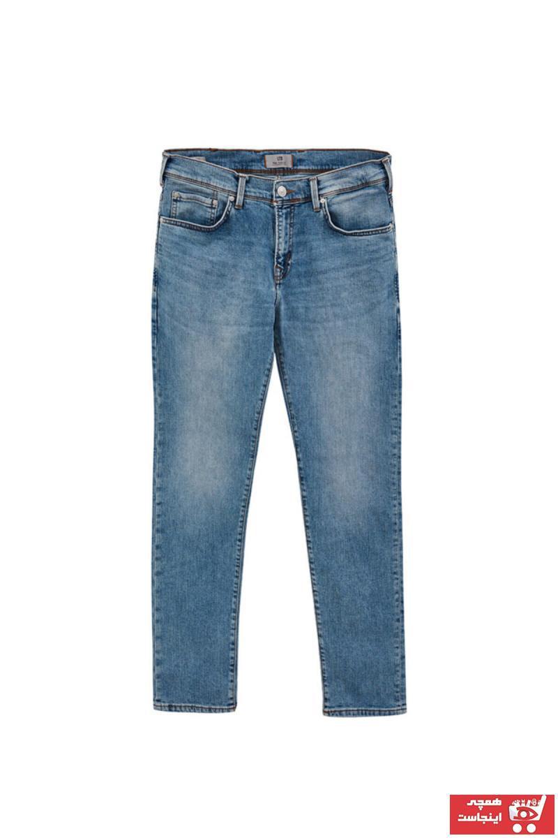 شلوار جین جدید برند ال تی بی رنگ آبی کد ty98771316