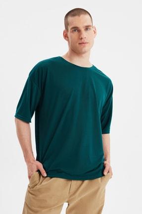 تی شرت مردانه شیک مجلسی مارک ترندیول مرد رنگ سبز کد ty98959117