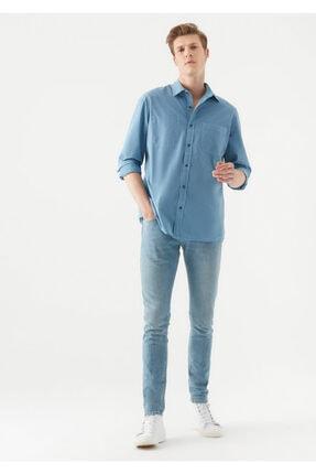 شلوار جین جدید مردانه شیک برند ماوی رنگ آبی کد ty99418566