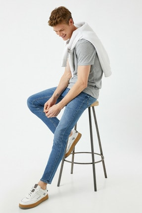 شلوار جین مردانه مارک برند کوتون رنگ آبی کد ty99480959