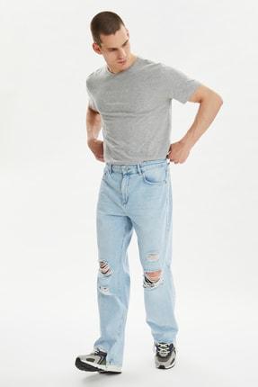 فروشگاه شلوار جین اورجینال مارک ترندیول مرد رنگ آبی کد ty99648802