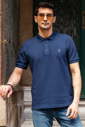 فروشگاه پولوشرت مردانه سال ۹۹ برند BERNOTTİ79 رنگ لاجوردی کد ty99936902
