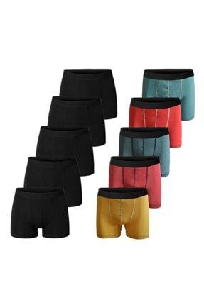 فروش شورت مردانه نخی برند JOHN LION رنگ مشکی کد ty112466443