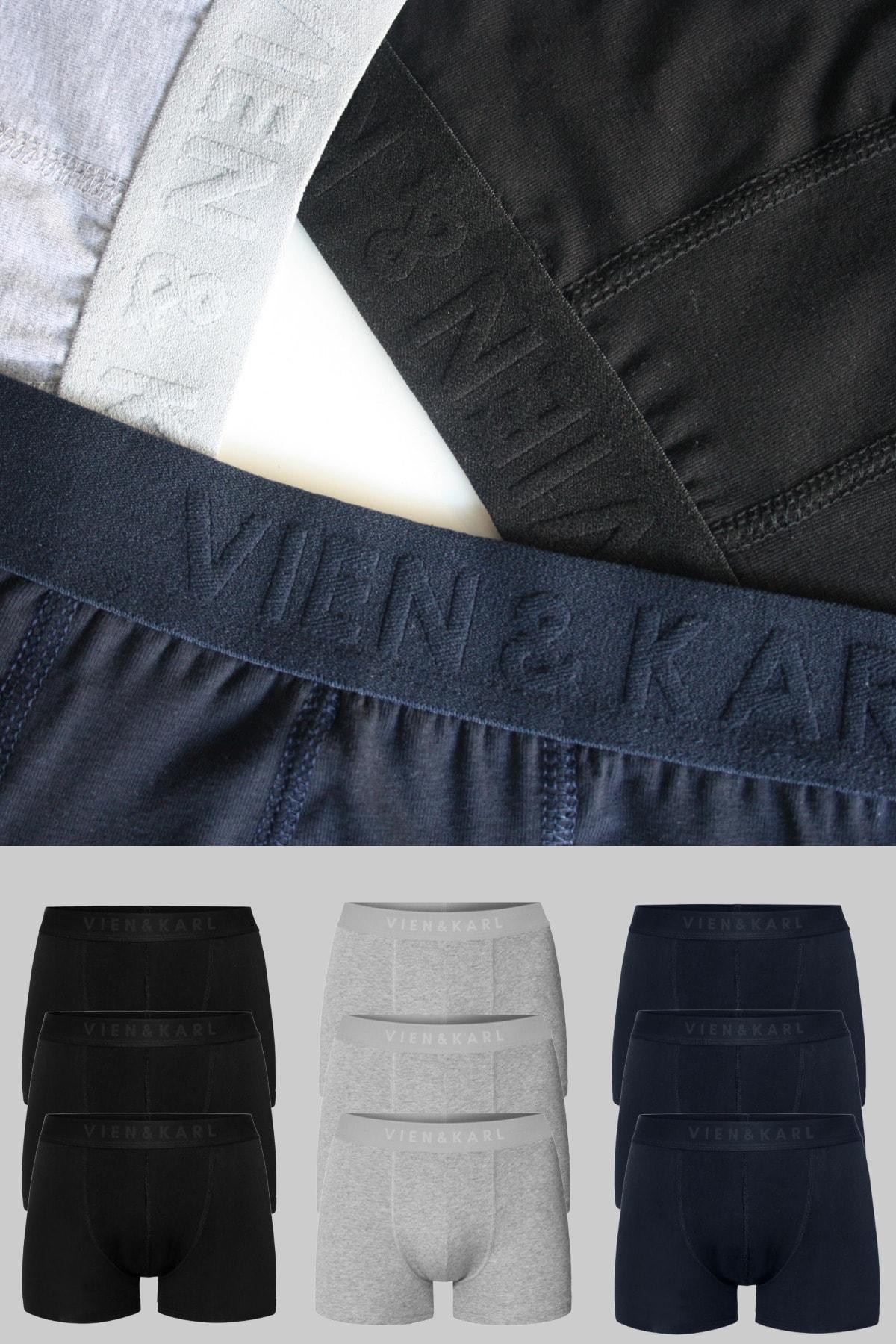 خرید اینترنتی شورت بلند Vien&Karl رنگ مشکی کد ty112493135