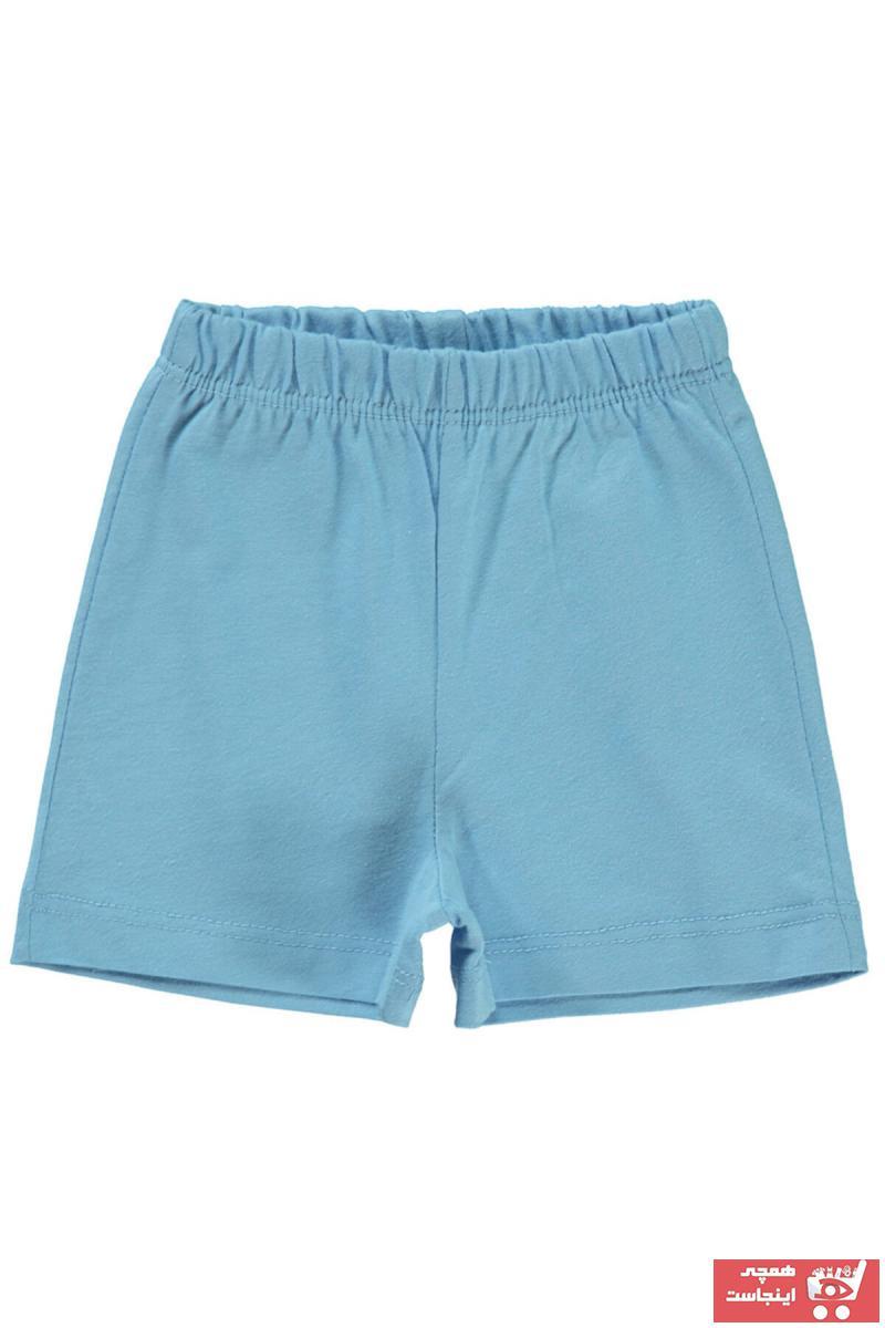 فروشگاه شلوارک نوزاد دخترانه اینترنتی برن Civil Baby رنگ آبی کد ty101738280