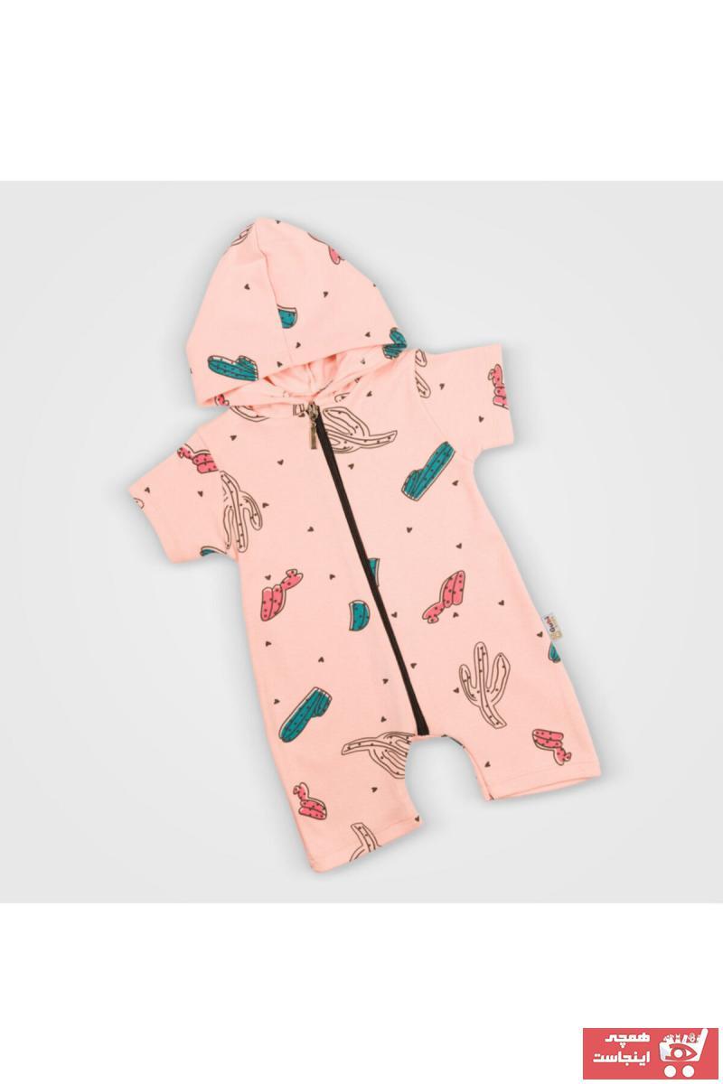 فروش سرهمی نوزاد پسرانه حراجی برند Gubi Kids رنگ صورتی ty102147702