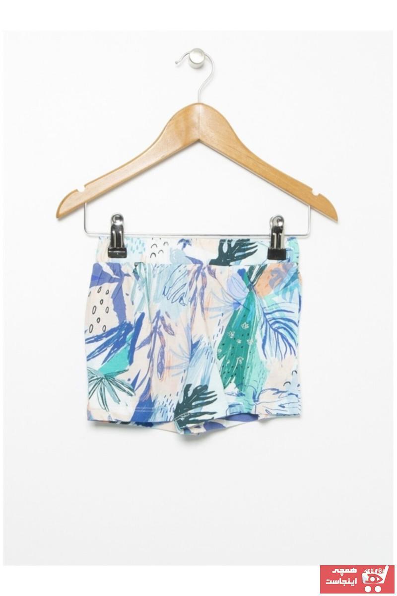 خرید اینترنتی شلوارک نوزاد دختر برند Mammaramma رنگ آبی کد ty103590657