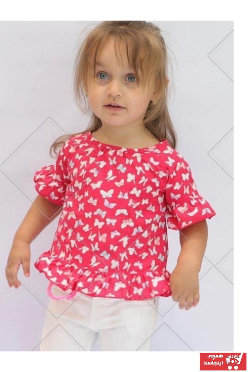خرید اسان پیراهن نوزاد دخترانه زیبا برند Çikoby رنگ صورتی ty103652262