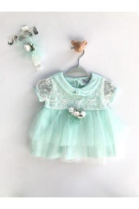 خرید ست لباس نوزاد دخترانه شیک برند MİNİBORN رنگ سبز کد ty104968539