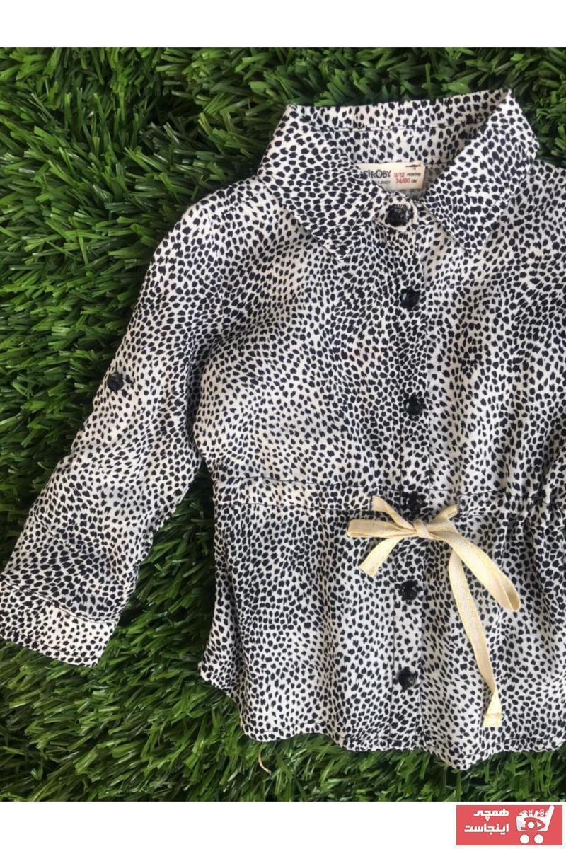 خرید پیراهن ارزانی برند Çikoby رنگ مشکی کد ty107221694