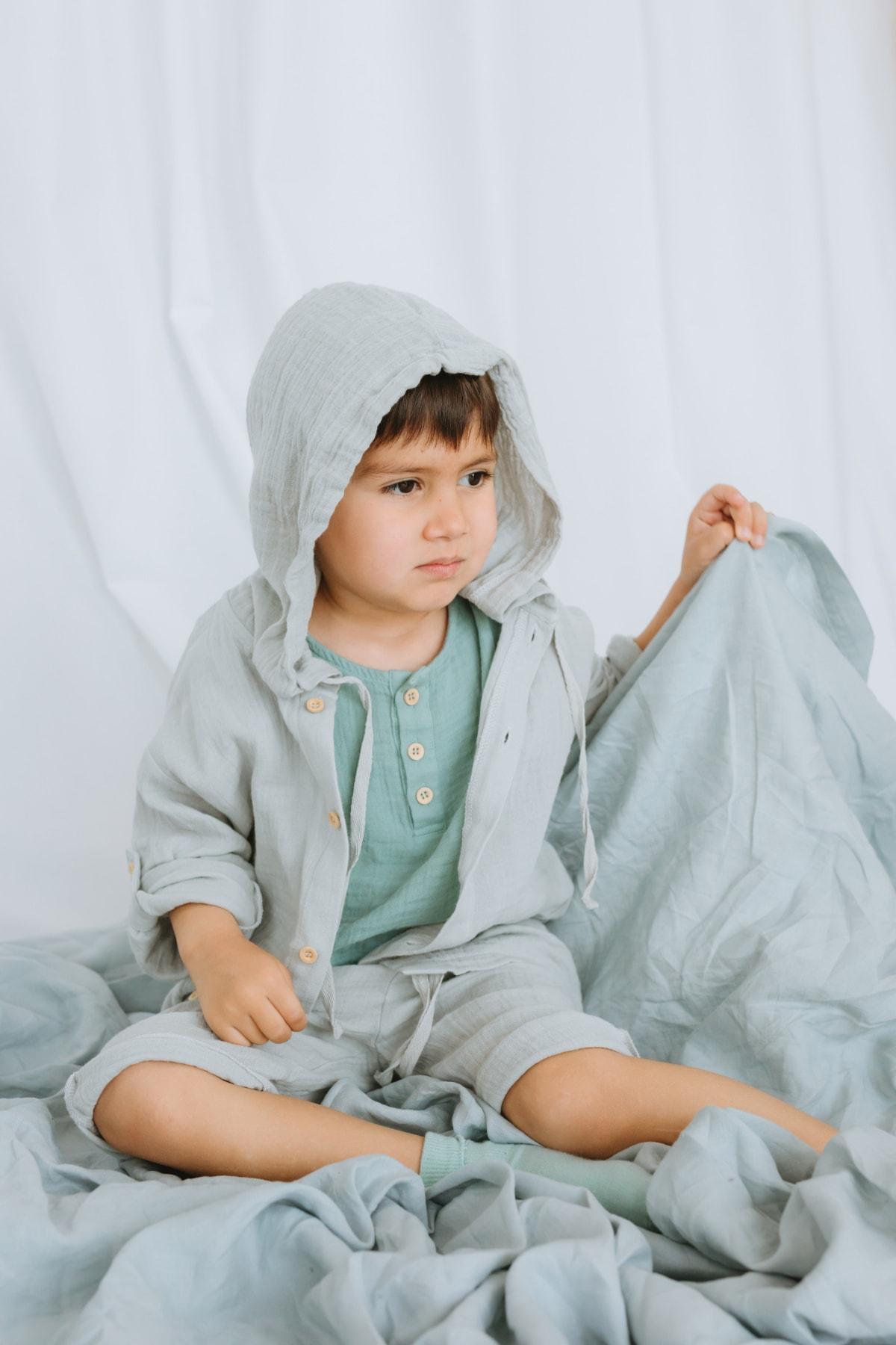 شومیز نوزاد دختر طرح دار برند Blessday رنگ نقره ای کد ty110739916