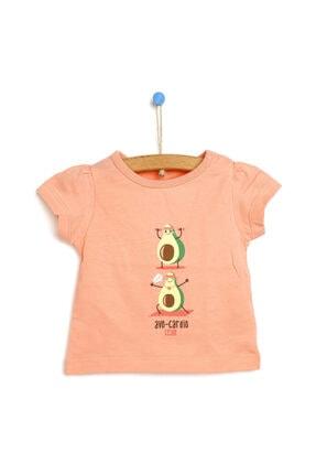 خرید انلاین تیشرت زیبا نوزاد دخترانه برند HelloBaby رنگ صورتی ty113871446