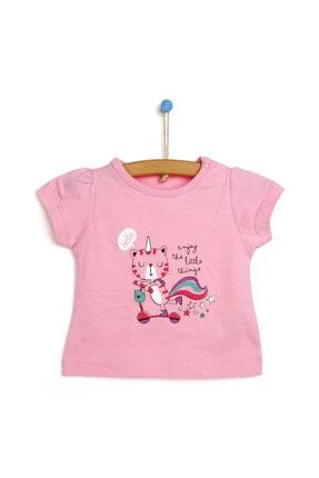 فروشگاه تیشرت نوزاد دخترانه برند HelloBaby رنگ صورتی ty113871459