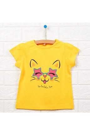خرید اسان تیشرت نوزاد دخترانه اسپرت جدید برند HelloBaby رنگ زرد ty113871582